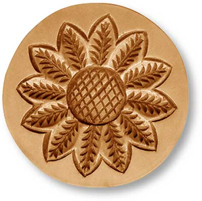 2270 sunflower blossom springerle cookie mold emporium anis paradies