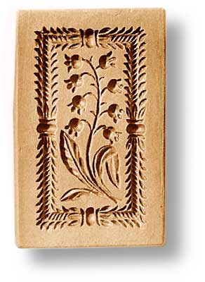 2275 springerle emporium cookie mold lily of the valley