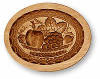 2352 Fruit Basket Oval Springerle Emporium Cookie Mold Anis Paradies