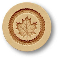 2740 Maple Leaf Springerle Emporium Cookie Mold Anis Paradies