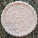 The Three Kings Circa 1680 (Large Nativity Scene) Springerle Cookie Mold