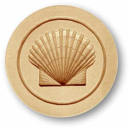 3010 springerle emporium scallop sea shell cookie mold anis paradies