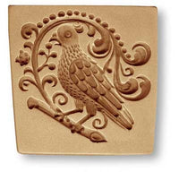 3292 Parrot with Baroque Springerle Emporium Cookie Mold Anis Paradies