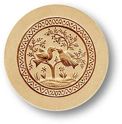 3355 two doves in tree springerle emporium cookie mold anis paradies