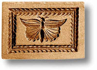 Butterfly in Rectangle Springerle Emporium Cookie Mold Anis Paradies