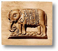 Indian Elephant Springerle Cookie Mold by Anis-Paradies