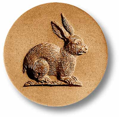 Round Rabbit Springerle Emporium Cookie Mold