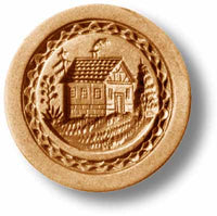 4364 Little House Springerle Emporium Cookie Mold Anis Paradies