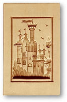 4620 Fairytale Castle Springerle Emporium Cookie Mold Anis Paradies