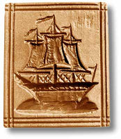 Three-Masted Ship Springerle Cookie Mold by Anis-Paradies