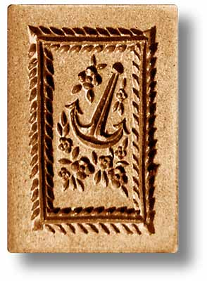 Anchor Springerle Cookie Mold by Anis-Paradies