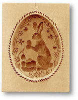 Rabbit (Bunny) in Easter Egg Springerle Cookie Mold by Anis-Paradies