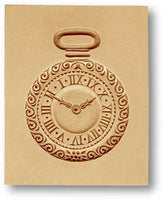 Pocket Watch Springerle Cookie Mold Springerle Emporium Anis-Paradies