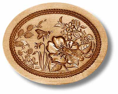 Spring Season Springerle Cookie Mold by Anis-Paradies