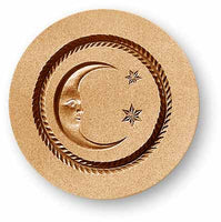 7129 moon with two stars springerle emporium cookie mold anis paradies
