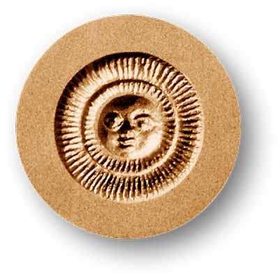 Small Sun Springerle Emporium Cookie Mold Anis Paradies