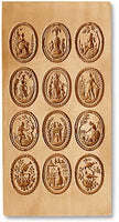 Special Order: 12-Picture Ovals of Biedermeier Period Art Multi-Image Mold