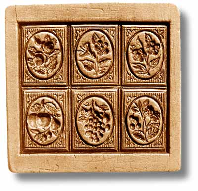 8807 multi image 6 prints garden bounty fruits flowers anis paradies emporium springerle cookie mold