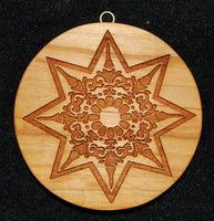 Mandala Star Springerle Cookie Mold
