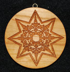 Large Mandala Star Springerle Cookie Mold