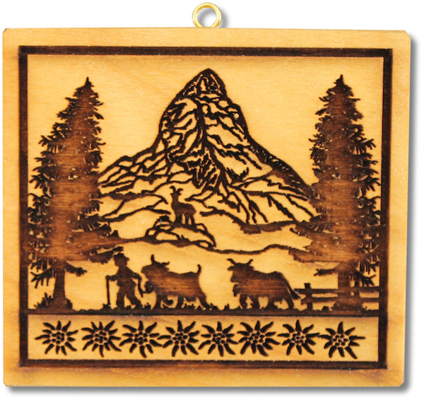 Alpine Scene Springerle Emporium Cookie Mold Sound of Music
