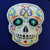 Sugar Skull Day of the Dead Springerle Cookie Mold