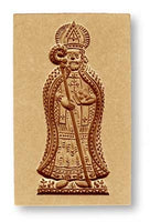 Bishop (Saint) Nicholas Springerle Cookie Mold