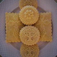 Irish springerle cookies with molds by Springerle Emporium