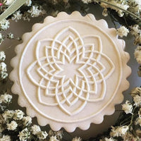 Indian Kolam Springerle Cookie