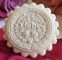 Liebe (Love) Springerle Cookie Mold by Anis-Paradies