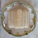springerle emporium flower staff cookie plate wedding