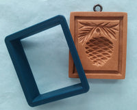 Cookie Cutter: Rectangle for Anis Paradies Pinecone 1003
