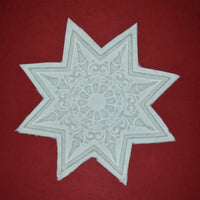 Springerle Emporium Paper Cast 8 point star