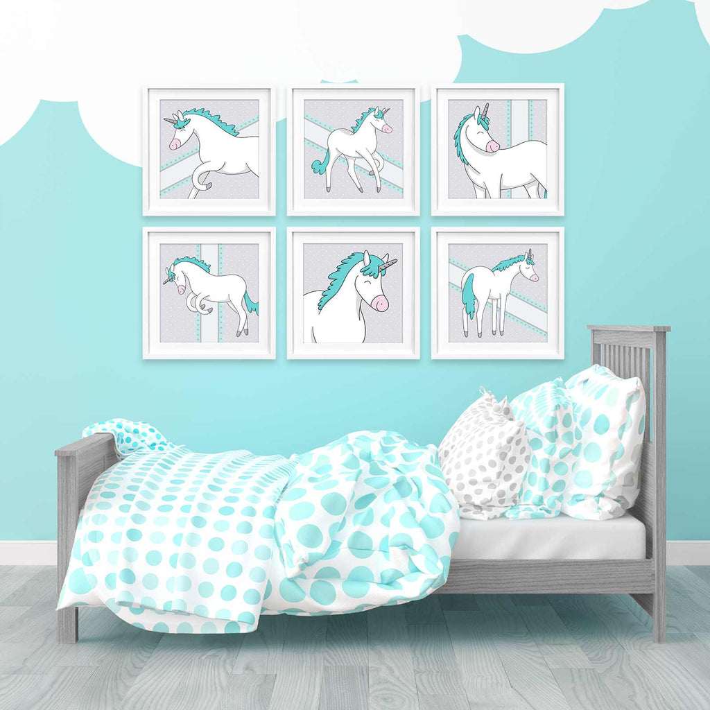 Unicorn Posters | Icy Color