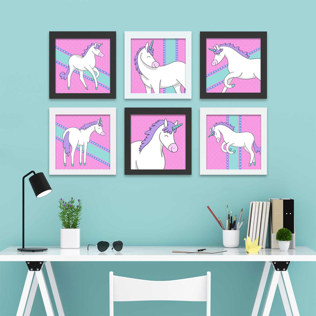 Unicorn Posters | Cheery Color