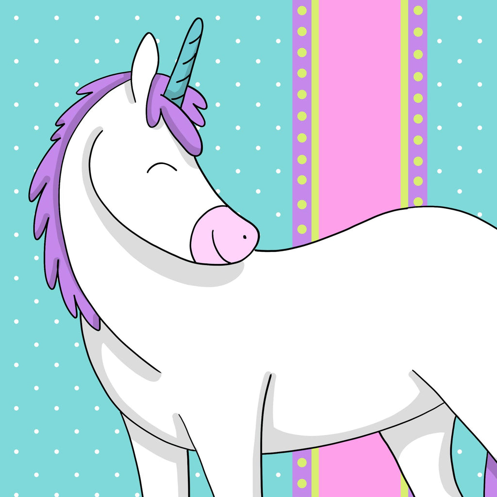 Unicorn Posters | Bright Color