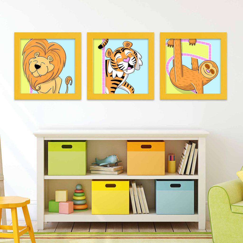 Zoo Animal Posters | Lollipop Color