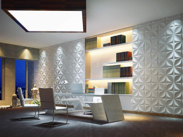 4-Diamonds Square Styled Acoustic 3D Wall Panel