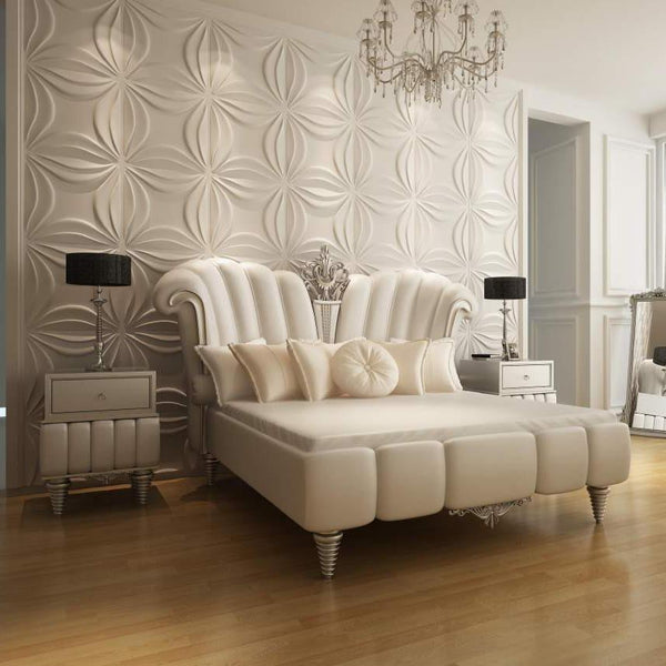 Inverted Waves Square Styled Acoustic 3D Wall Panel