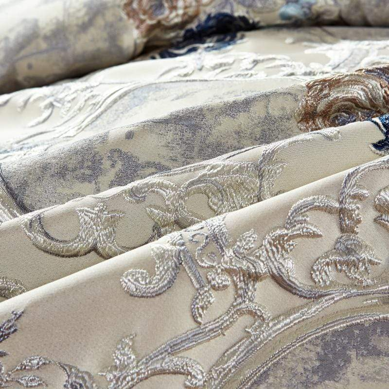 Oriental Jacquard Luxury Bedding Set