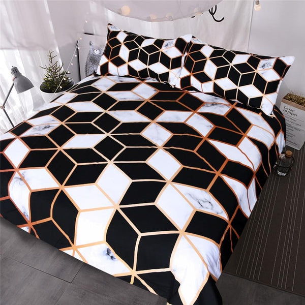 Euclid Duvet Cover Set