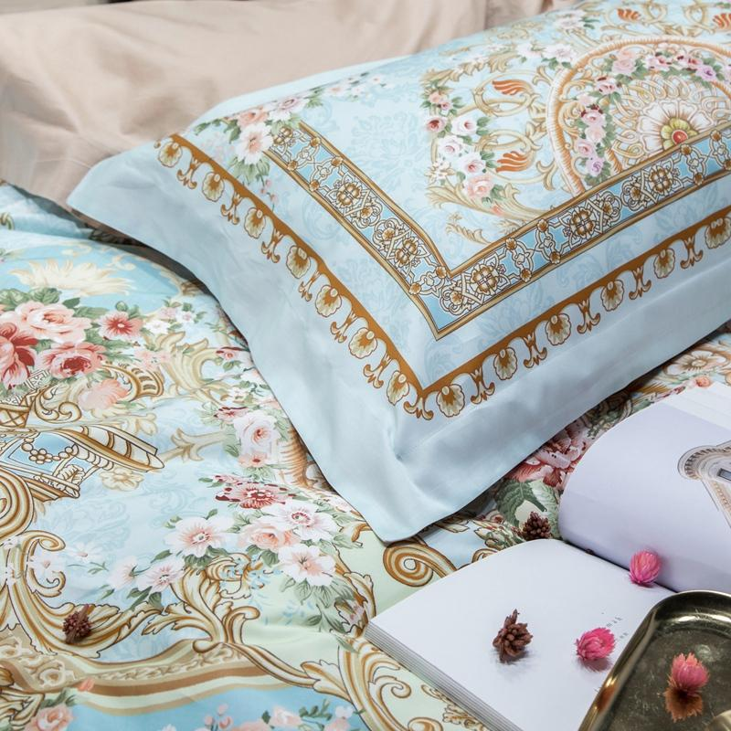 El Rosas Duvet Cover Set (Egyptian Cotton)