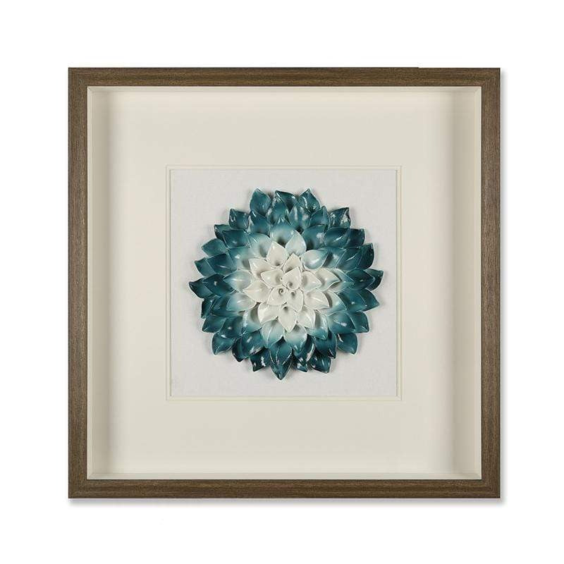 Blue Hue 3D Wall Decor