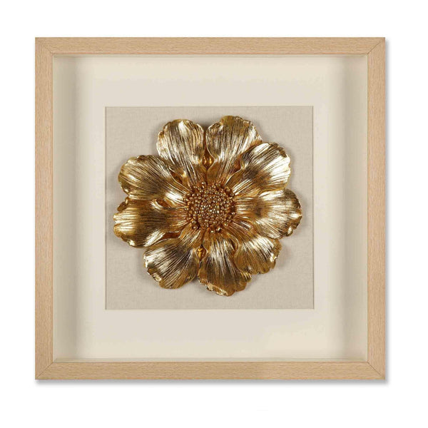 Golden Embrace 3D Wall Decor