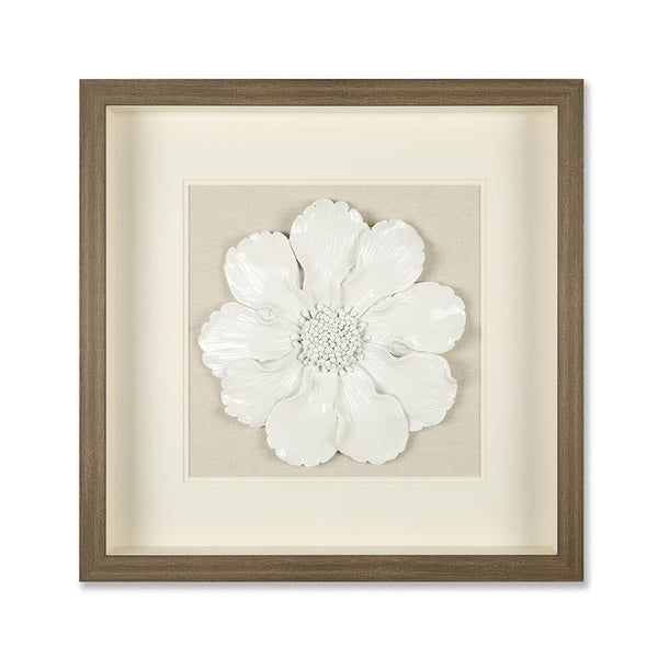 White Luna 3D Wall Decor
