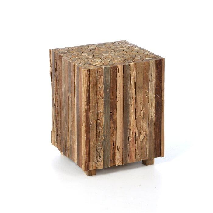 Hyder Wood Side Table