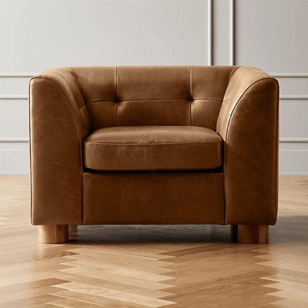 Tobacco Tufted Chair