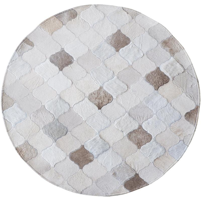 Shades of Grey Cowhide Rug