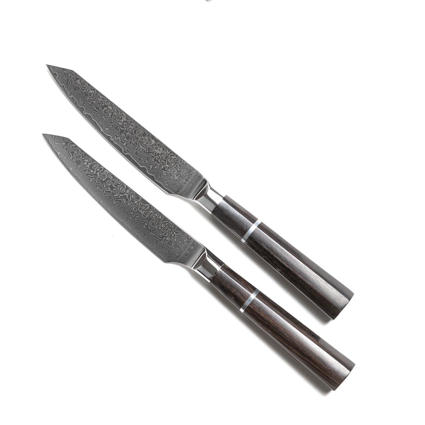 Afilado Damascus Steel Knife Set