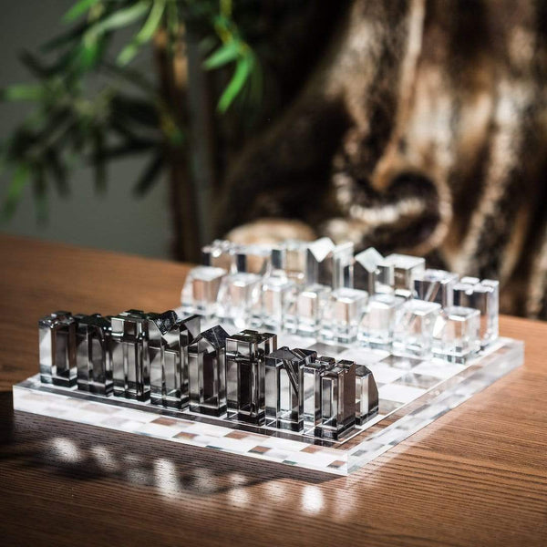 Crystal Chess Set